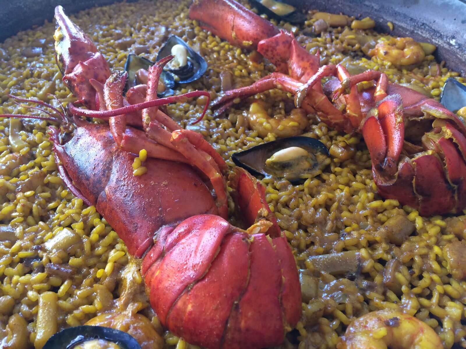 Paella-Arroz de Bogavante